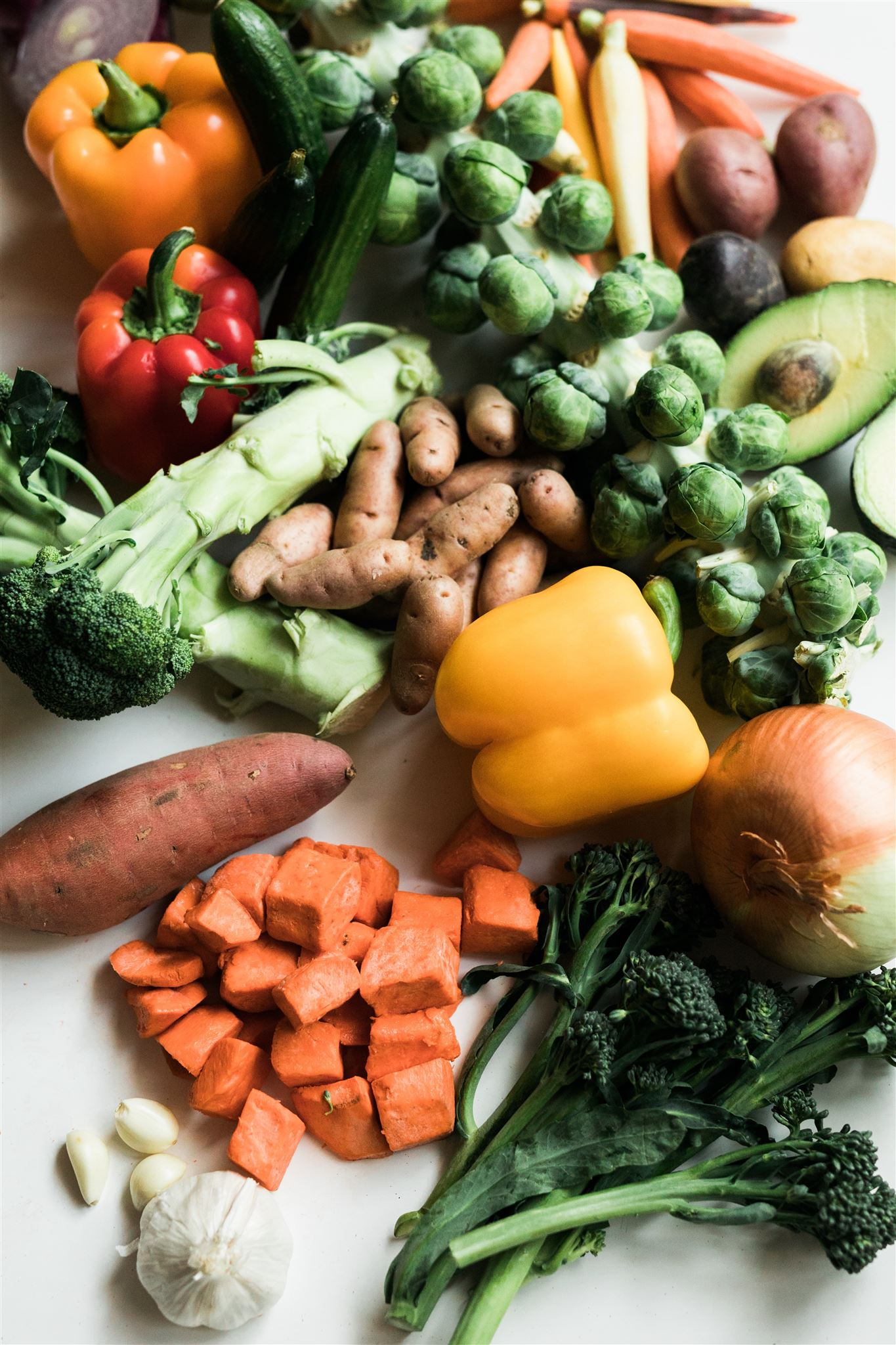 Grøntsager en masse