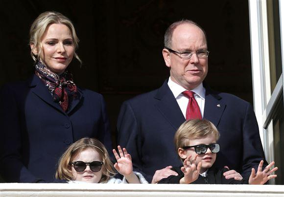 billede af fyrstefamilien