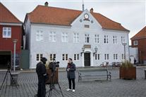 Billede af retsbygningen i Rønne
