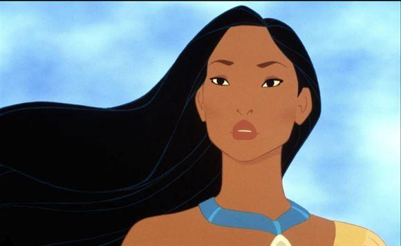Pocahontas fra tegnefilmen