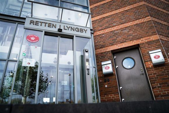 Indgangspartiet til Retten i Lyngby