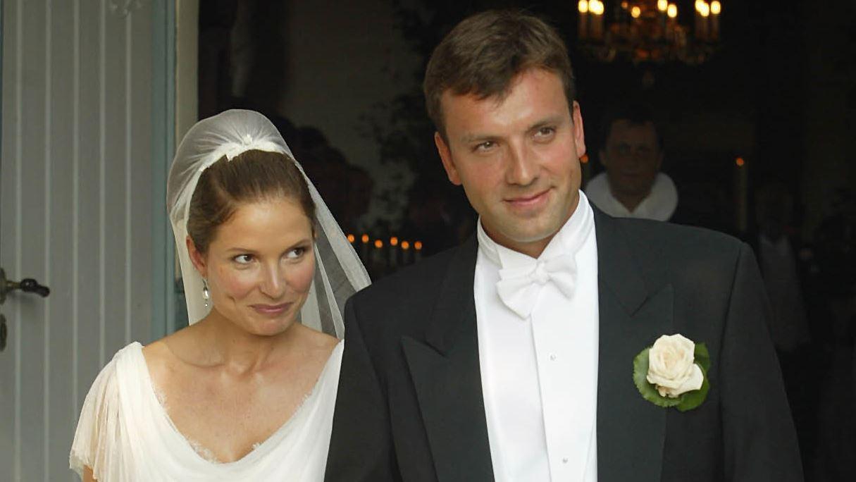 Jeppe Handwerk bryllupsbillede med Birgitte