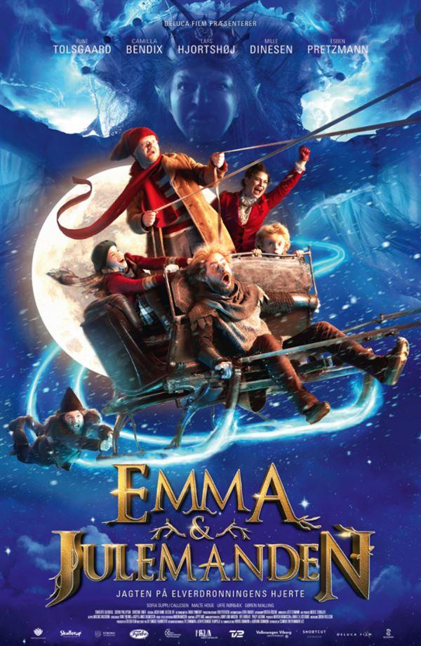 filmplakjat af Emma og Julemanden