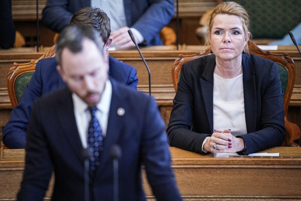 Støjberg og Ellemann-Jensen på Christiansborg
