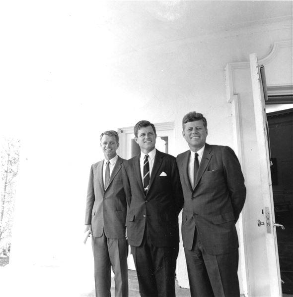 De tre Kennedy-brødre