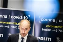 Magnus Heunicke på pressemøde