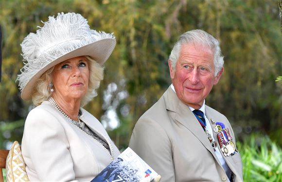 billede af Camilla Parker Bowles og prins charles
