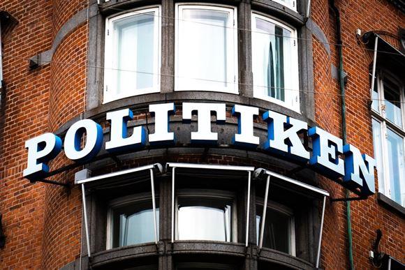 Billede af Politikens facade