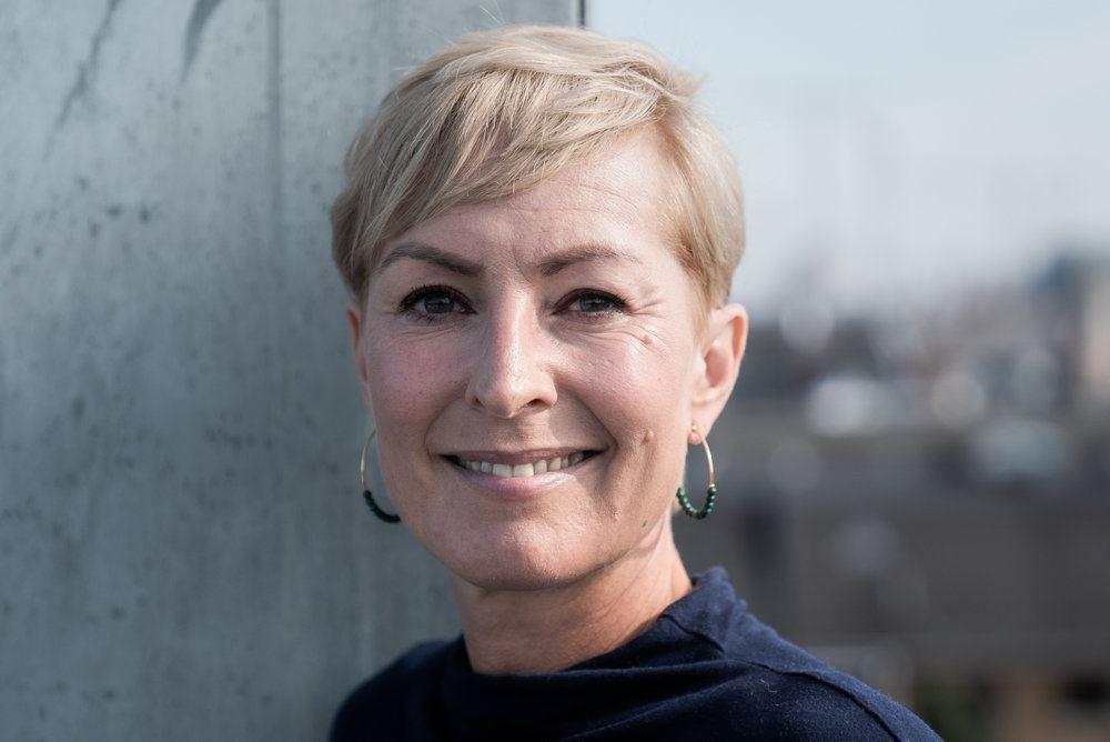 Cecilie Beck portræt