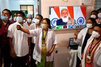 Indiske sundhedsmedarbejdere