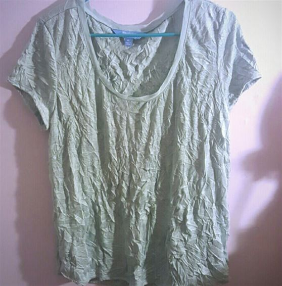 En krøllet t-shirt