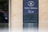 Indgang til retten i Glostrup