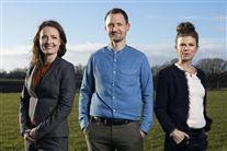 Sesilie Munk Stenderup, Kenneth Hansen og Louise Fredbo-Nielsen