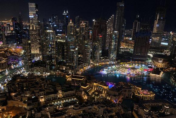 view over Dubai