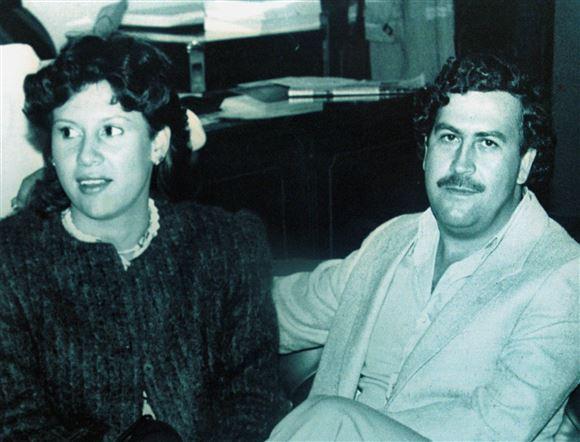billede af Pablo Escobar og Victoria Henao
