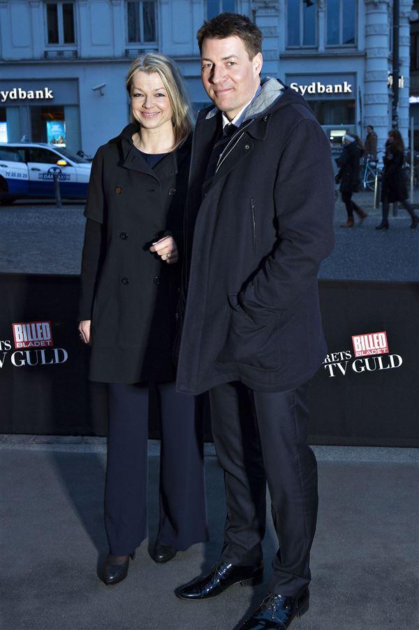Morten Ankerdal sammen med sin kone Vibeke.