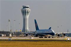Et fly i Beijings lufthavn
