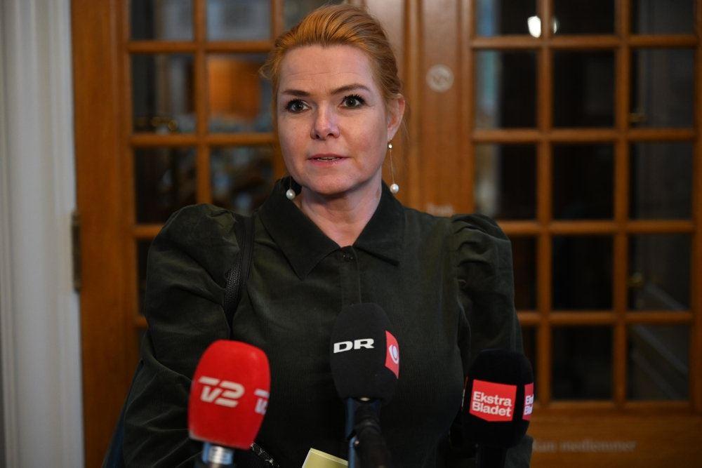 Inger Støjberg på Christiansborg