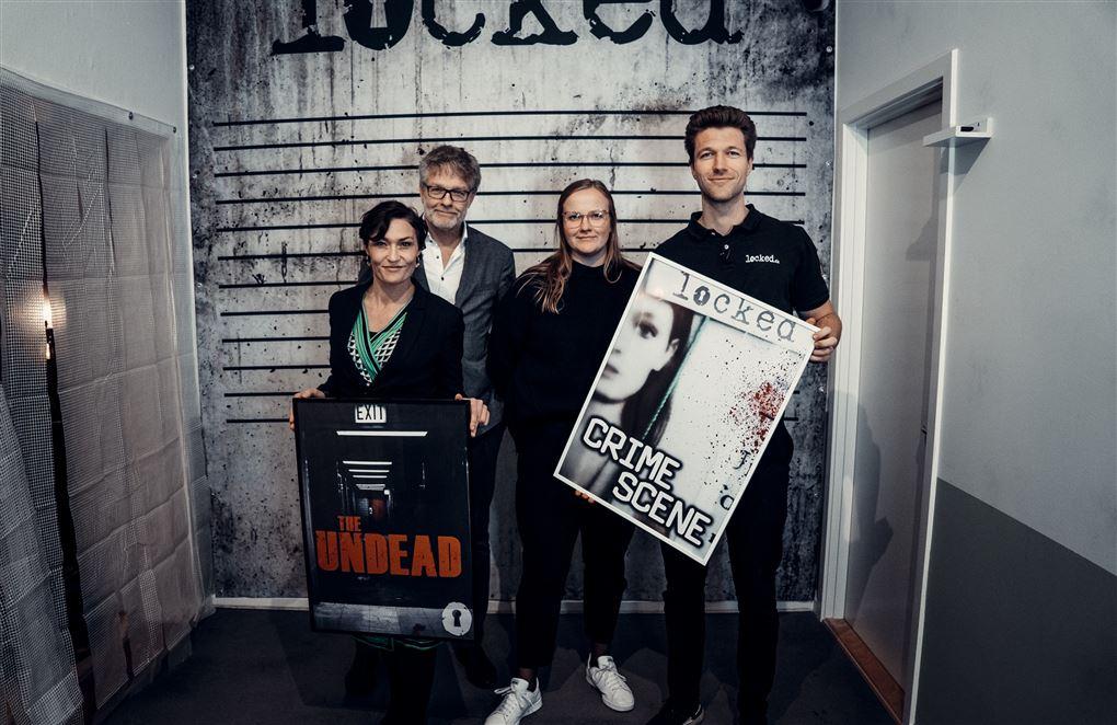 Anna Grantland og Martin Høeg Mia Wagner og Jan Lehrmann