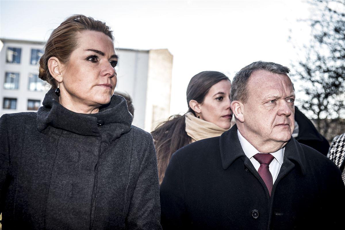 Billede af Lars Løkke og Inger Støjberg
