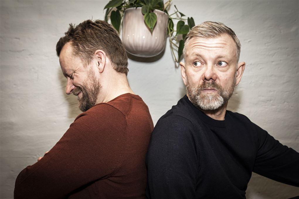 billede af Frank Hvam og Casper Christensen