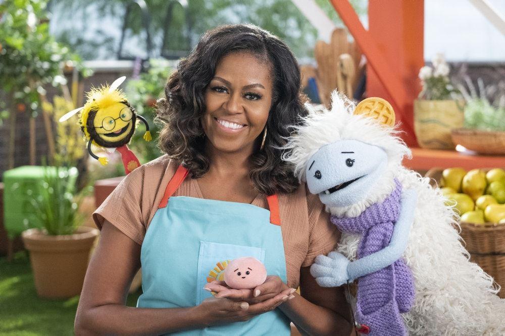 Michelle Obama med Vaffel og Mochi