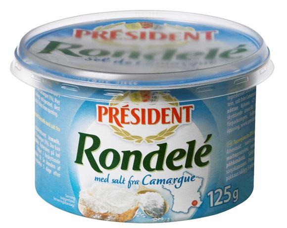 billede af Président Rondelé med salt fra Camargue