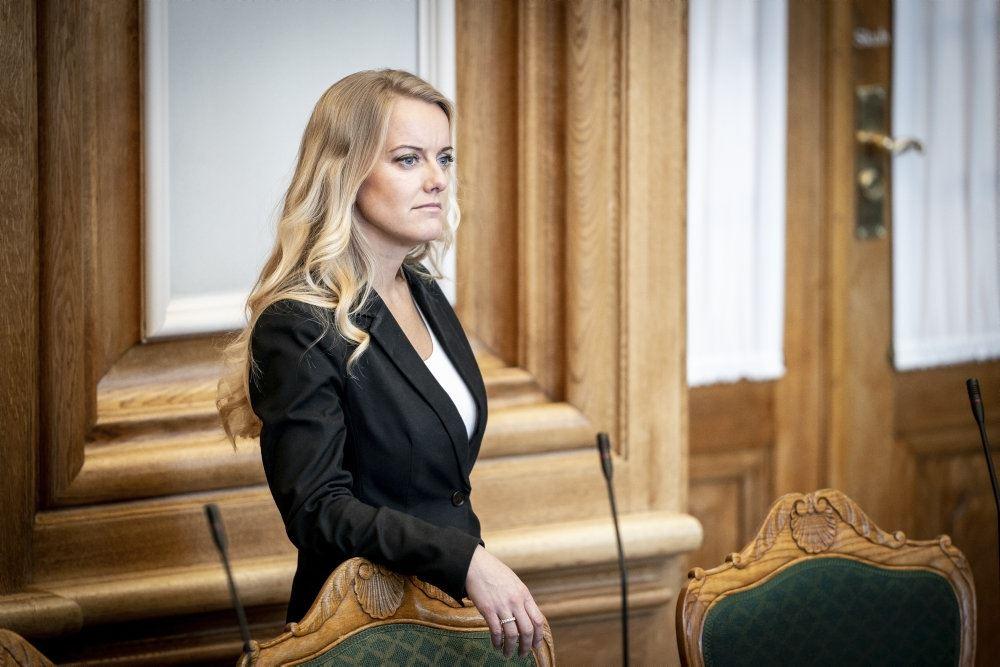 Pernille Vermund på talerstolen
