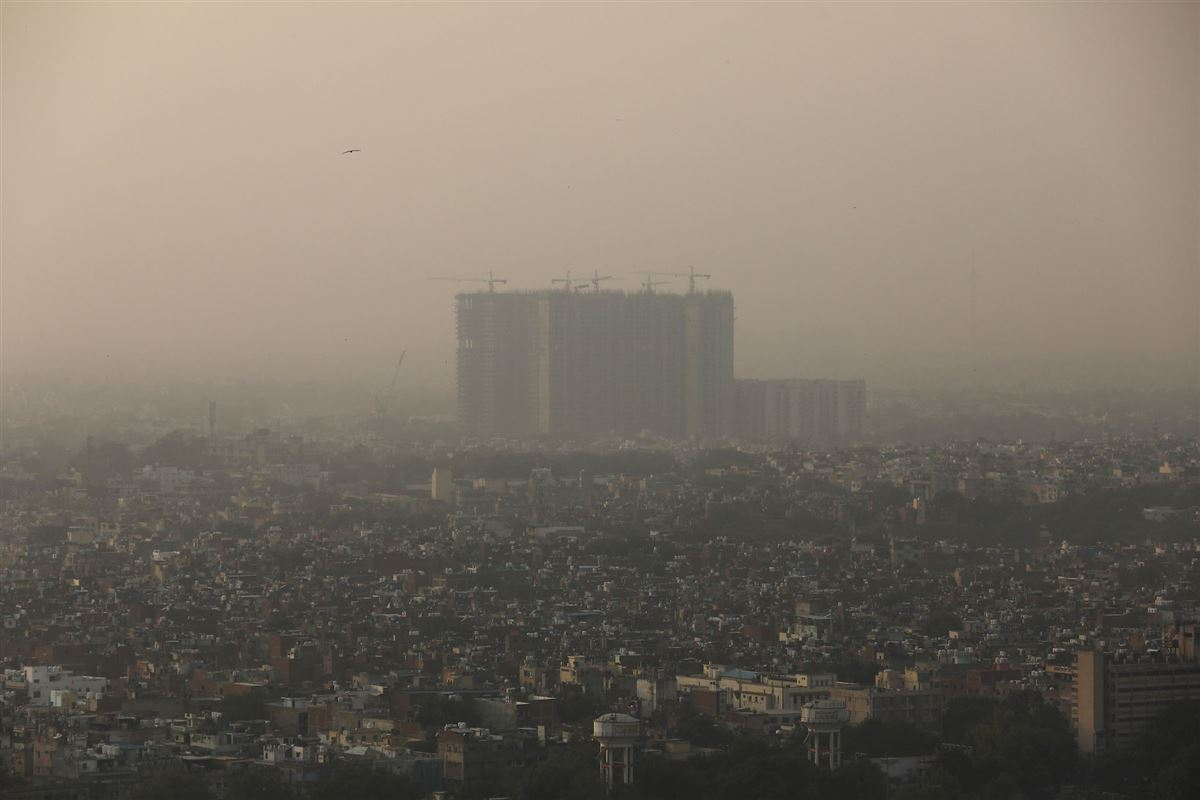 En smog-indhyllet by
