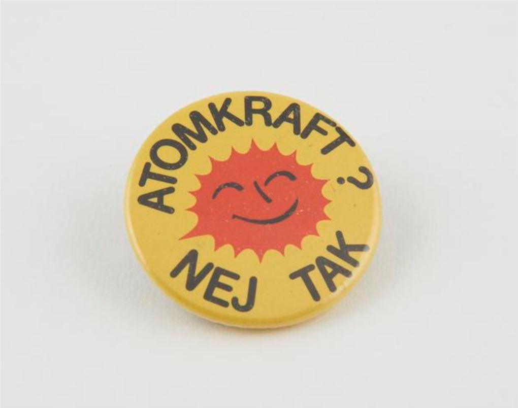En smilende sol og et Atomkraft? Nej tak