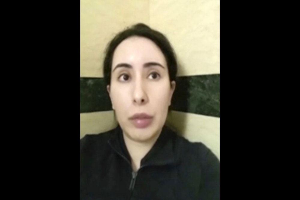 Prinsesse Latifa i video