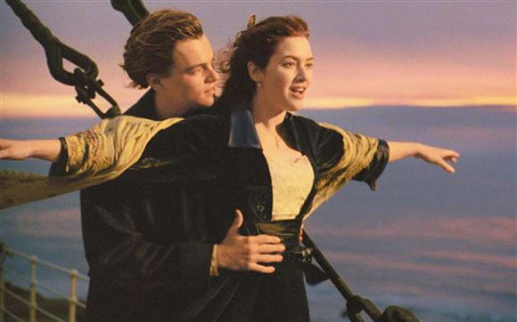 scene fra Titanic