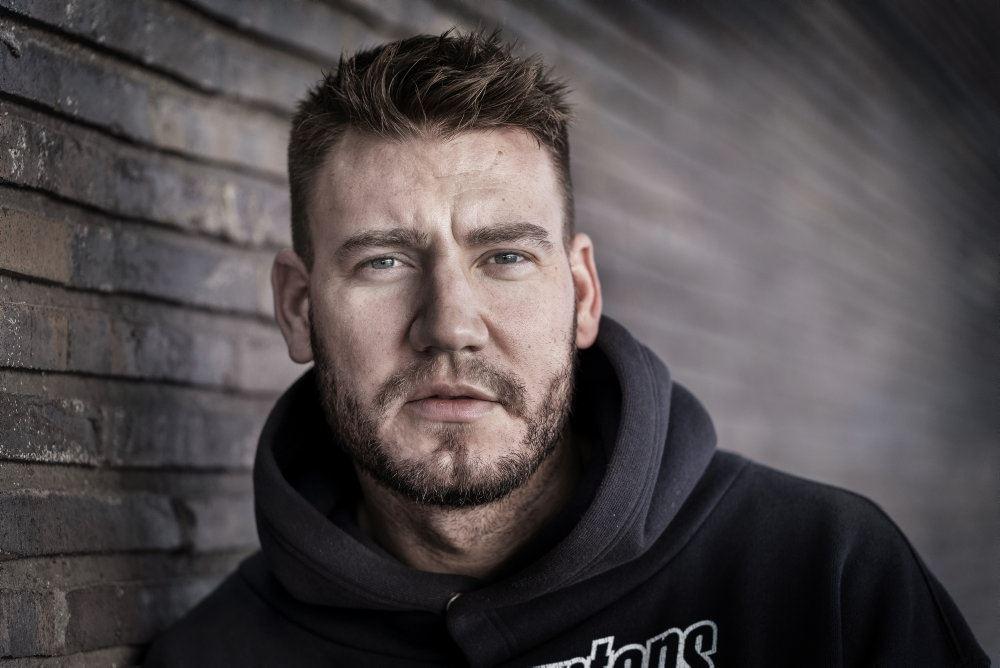 Nicklas Bendtner portræt