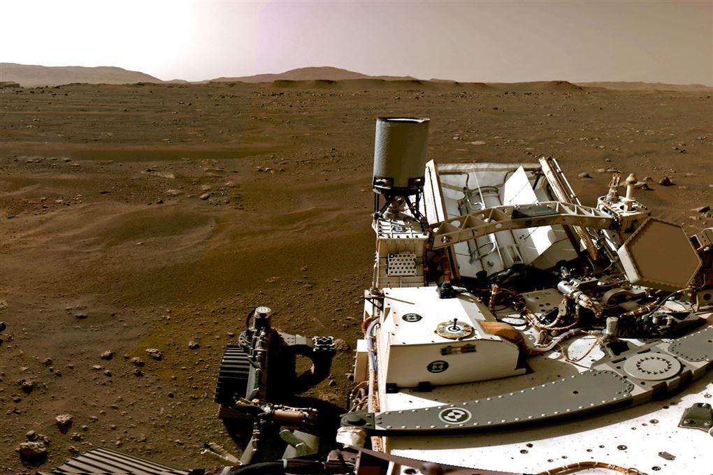 En rover på Mars