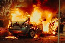 bil i brand