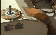 interiør i rumkøretøj fotograferet på mars