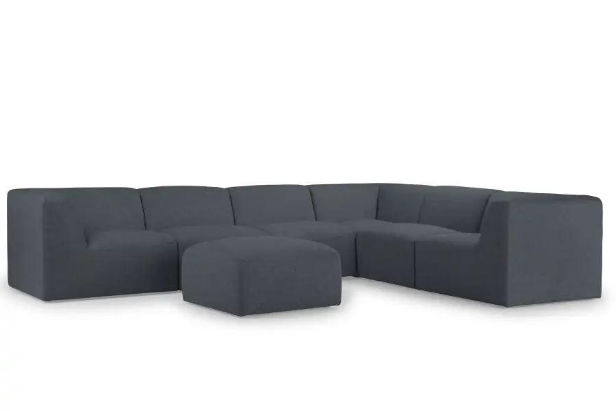 U-sofa med puf