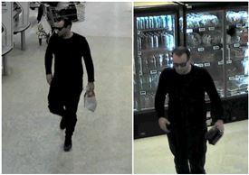 overvågningsbilleder af røveren