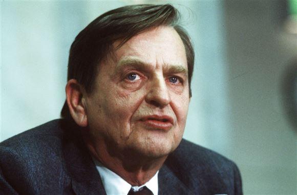 Olof Palme portræt