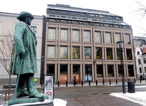 Gadebillede fra Oslo