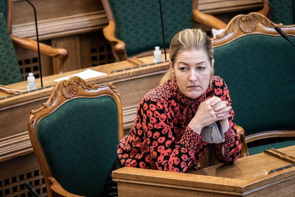 Sofie Carsten Nielsen i Folketingssalen