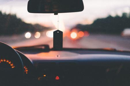 udsigt gennem bilrude