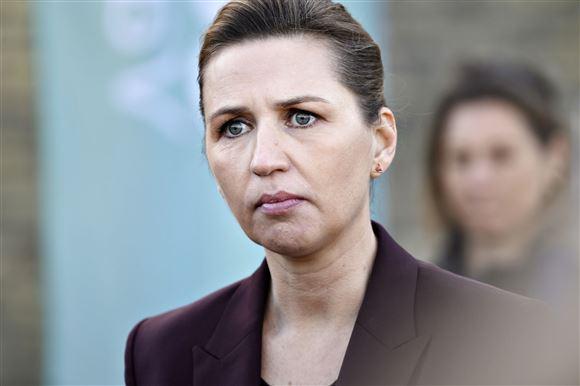 Mette Frederiksen portræt