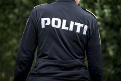 En politijakke