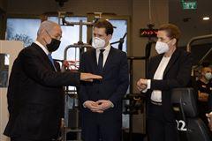 Mette Frederiksen mødtes tidligere på ugen med Israels premierminister, BenjamiMette Frederiksen, Benjamnin Netanyahu og  Sebastian Kurz