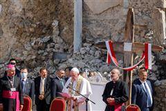 Pave Frans på tur