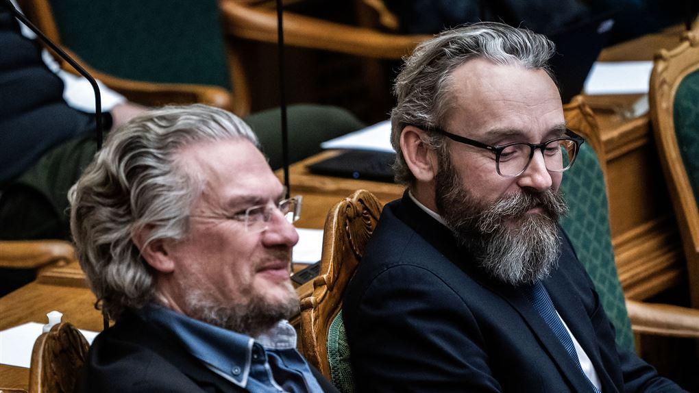 billede af Ole Birk Olesen og Henrik Dahl