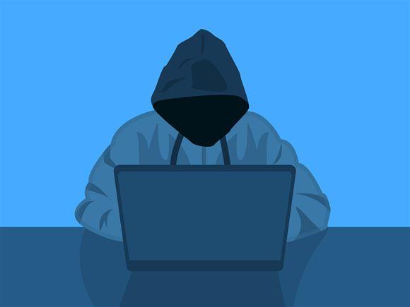 grafik der viser hacker bag skærm