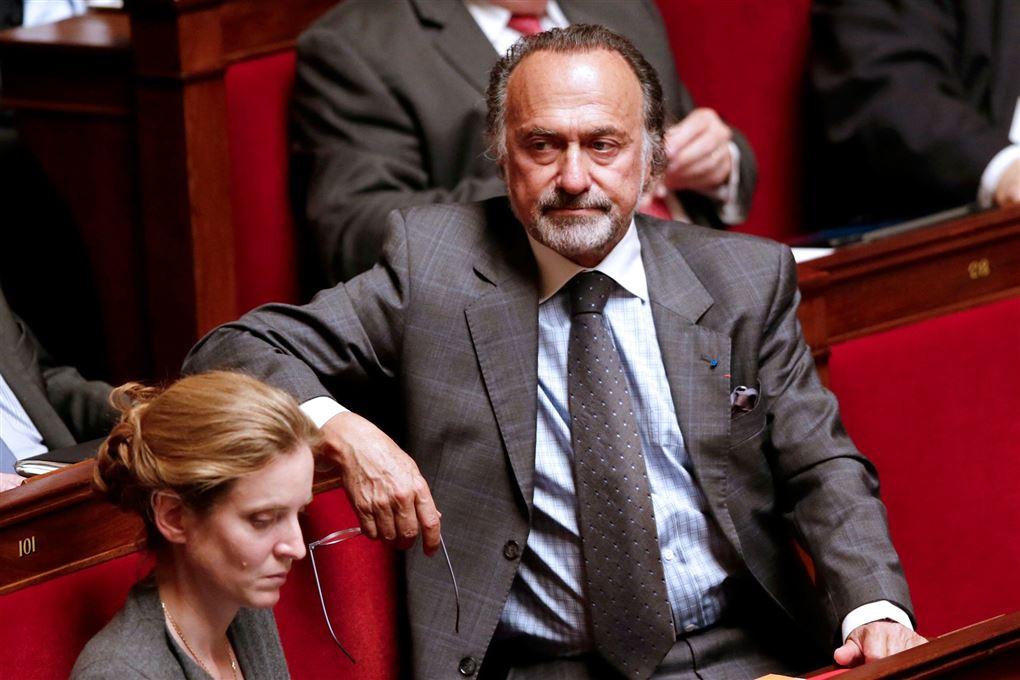 Olivier Dassaud i parlamentet