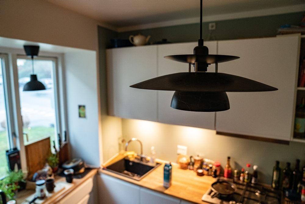 billede af et køkken